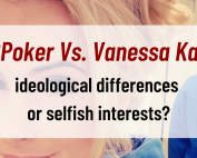 GGPoker Vs. Vanessa Kade ideological differences or selfish interests