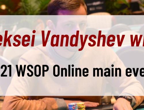 Aleksei Vandyshev wins 2021 WSOP Online main event