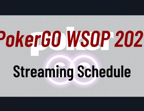 PokerGO WSOP 2021 Streaming Schedule