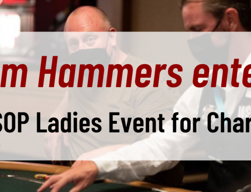 Man, Tom Hammers, enters WSOP Ladies Event for Charity