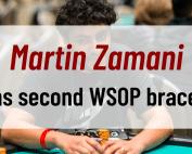 Martin Zamani wins second WSOP bracelet